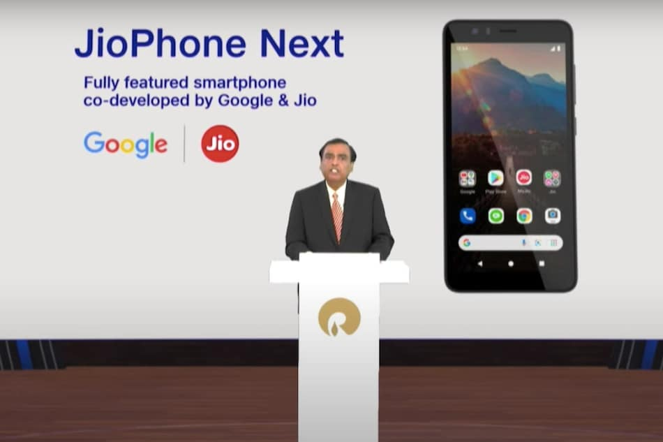 JioPhone Next Pre-Bookings in India to Go Live From Next Week: Report