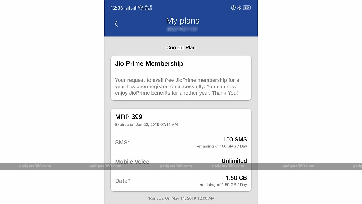 jio prime membership extension gadget 360 Jio Prime  Reliance Jio