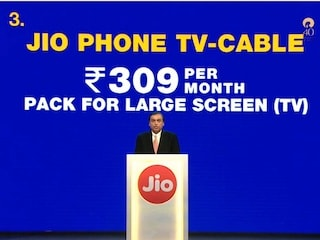 Jio Phone Comes With Dedicated Rs. 153 Plan; Jio Phone TV-Cable Announced Too