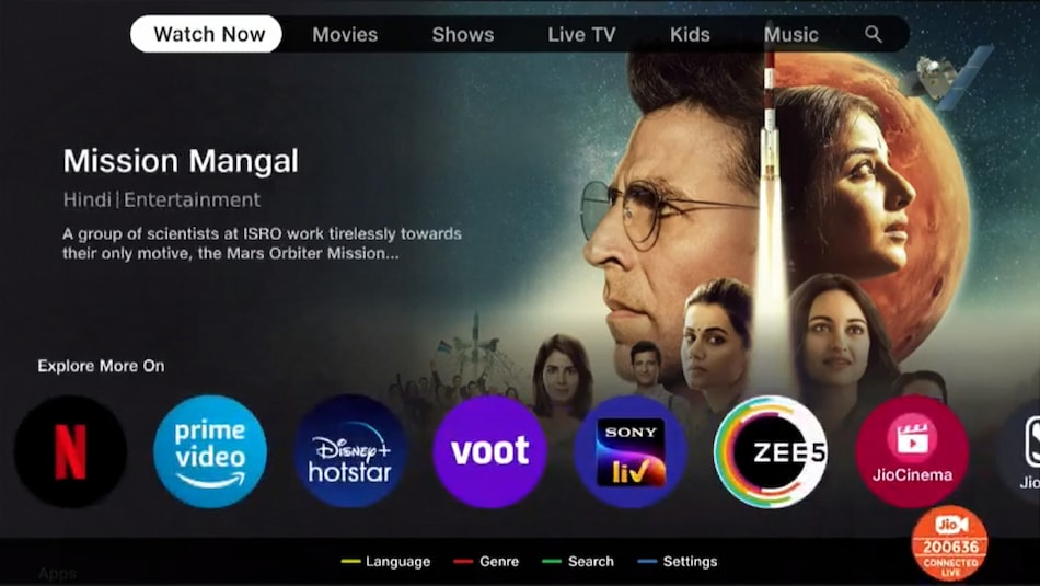 Jio TV+ Curation Platform Announced: Brings Single Sign-In for 12 OTT Apps, Aggregated Voice Search, Interactive Live TV, More