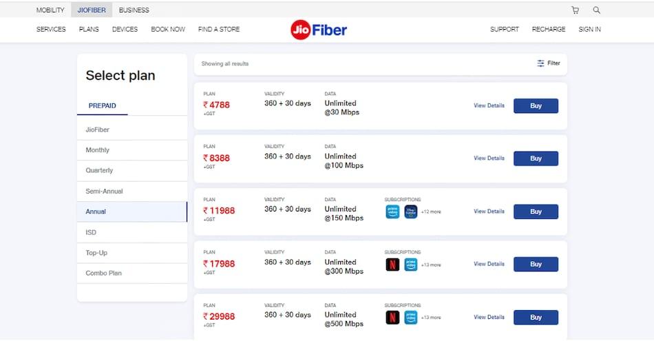JioFiber का डाटा फ्री में 1 महीना करें इस्तेमाल, जानें प्लान