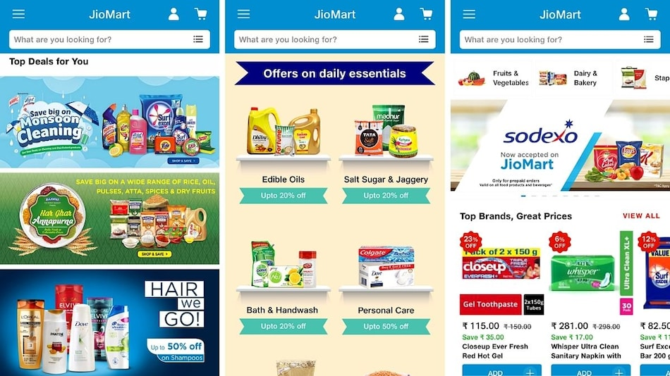 JioMart App for Android and iOS Launched: Here's How It Works