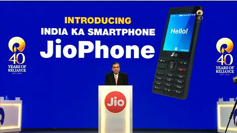 Jio Phone Launch in Pictures