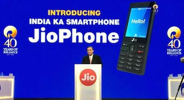 official photos e2545 c41e6 Jio Phone, Free With Rs. 1,500 Deposit, Unlimited 4G Data, Launched ...