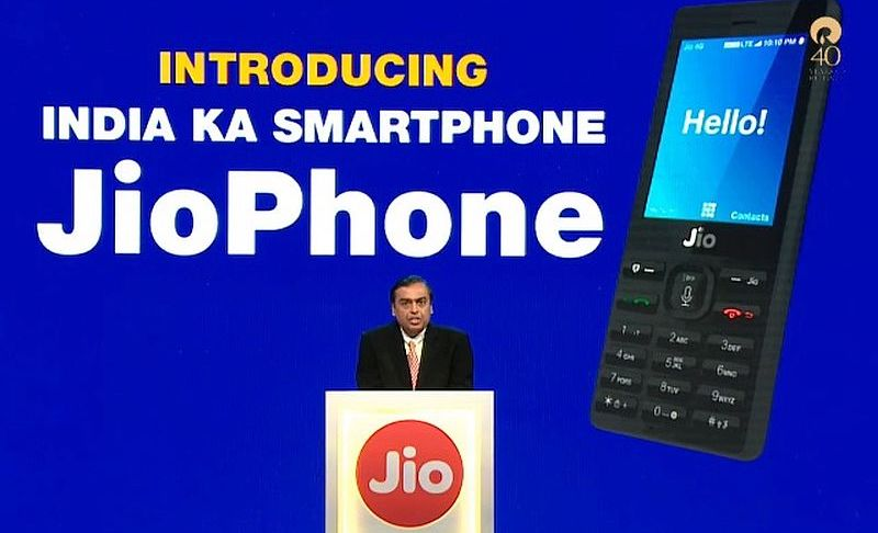 Jio Phone to Hit Telecom Sector, Erode Revenues: Vodafone to DoT
