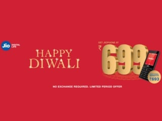 Jio Phone Diwali 2019 Offer Extended for Another Month, Letting You Get the Jio Phone at Rs. 699 Only