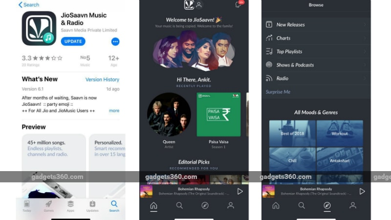 JioSaavn App Unveiled for Android, iOS; 90-Day Complimentary Pro Access Offered to Jio Users