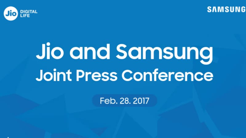 Reliance Jio, Samsung to Host Joint Event on February 28 at MWC 2017