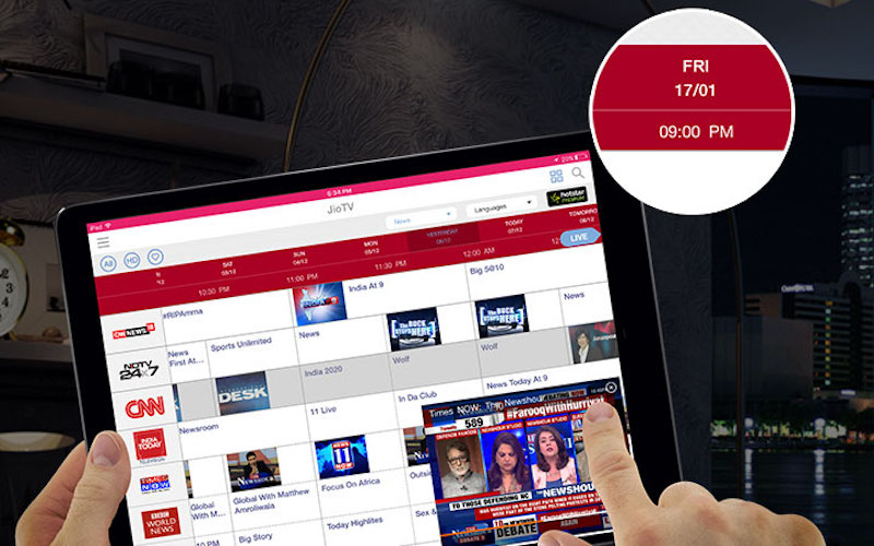 Reliance Jio's JioTV App Gets a Makeover on iPhone, iPad