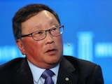 BlackBerry CEO Says Patent Plans on Track After Departures