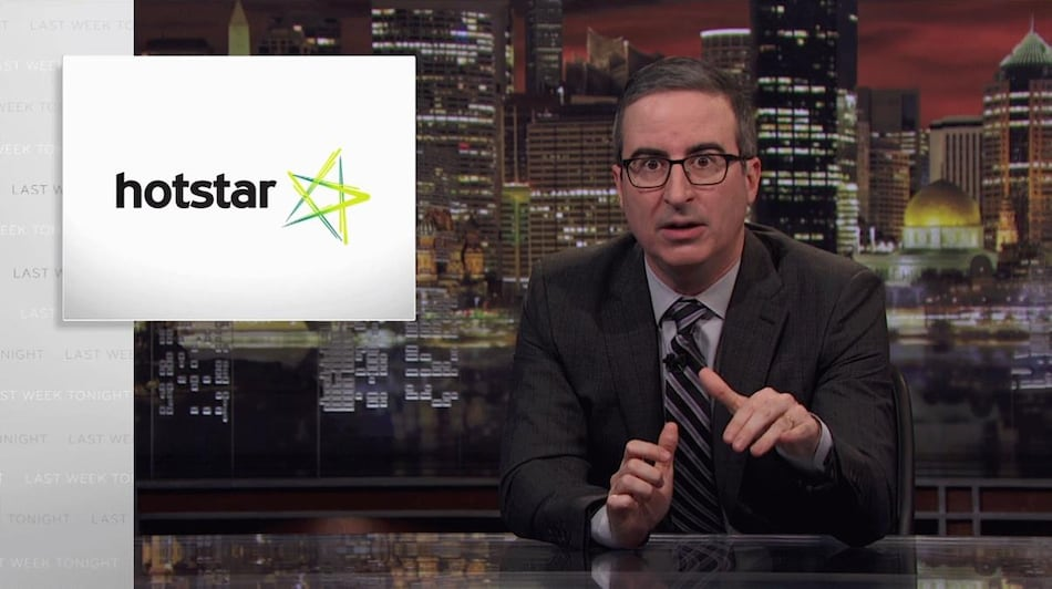 John Oliver Blasts Hotstar Censorship in New Last Week Tonight Episode