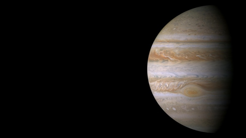 NASA Spacecraft Gets Up Close With Jupiter's Great Red Spot