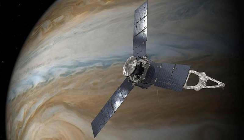NASA's Juno Probe Completes Flyby of Jupiter's Great Red Spot