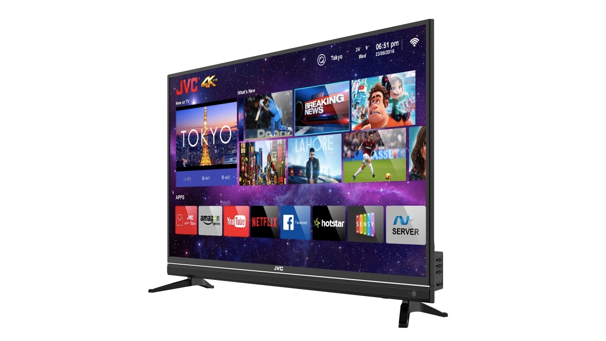 730c5e56b JVC 43N7105C 43-Inch 4K Smart LED TV With Quantum Backlight Launched in  India