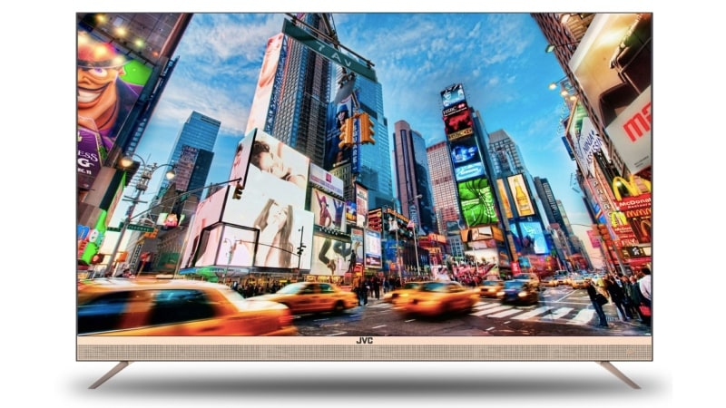 JVC LED TV With 55-Inch 4K Panel, Smart Features Launched in India at Rs. 38,999
