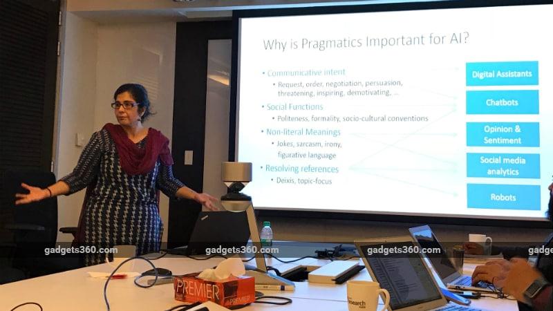 kalika bali microsoft research india lab researcher ai pragmatics gadgets 360 Microsoft Research Pragmatics in AI