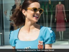 Cannes 2018: A Day With Kangana Ranaut In The French Riviera