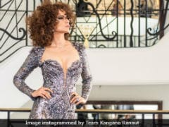 Cannes 2018: Kangana Ranaut's OOTD Is A Spectacular Catsuit. Take A Bow