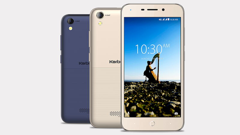 Karbonn K9 Music 4G Smartphone with Dual Speakers Launched at Rs. 4990