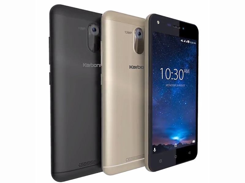 Karbonn Launches Titanium Jumbo with 4000mAh Battery at Rs. 6490