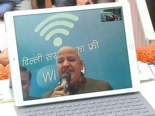 Chief Minister Arvind Kejriwal Launches Free Wi-Fi Amid Delhi Internet Shutdown