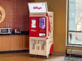 Kellogg's Bowl Bot: US College Campuses Get Robots to Dispense Cereal Mixes Into Their Bowls