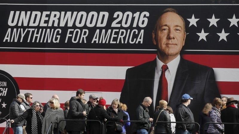 Netflix Suspends House of Cards Production Amid Spacey Allegations