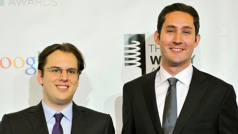 Instagram Says CEO Systrom, CTO Krieger Resign