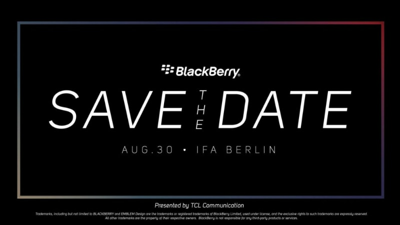 BlackBerry KEY2 LE or KEY2 Lite Launch Expected at IFA on August 30
