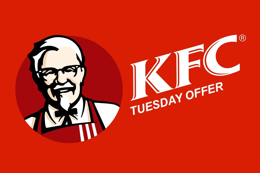 KFC Tuesday Offers, Coupons: Super Saver Deals on KFC Orders Today