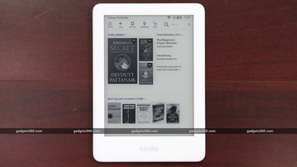 Amazon Kindle (10th Gen) Review