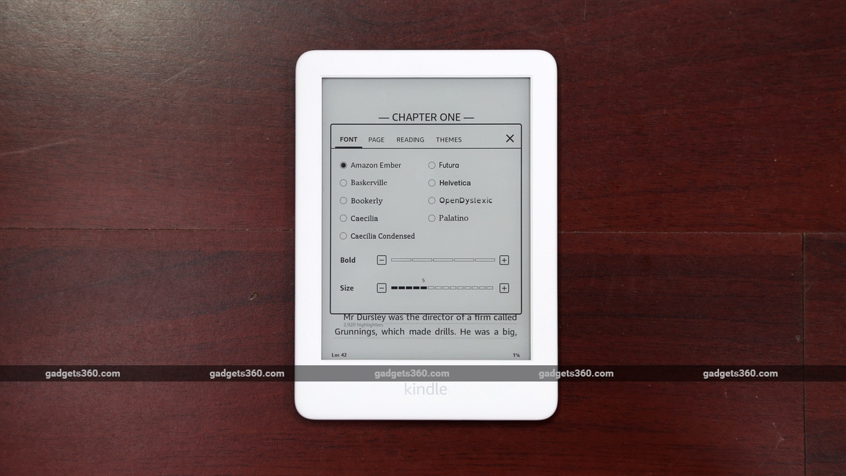 kindle 10th gen fonts gadgets 360 Kindle