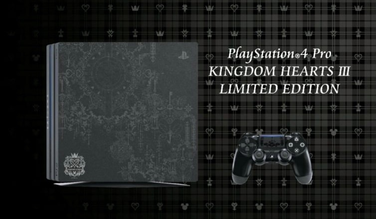 Kingdom Hearts 3 Limited Edition PS4 Pro Announced; $230 Collector's Edition Spotted