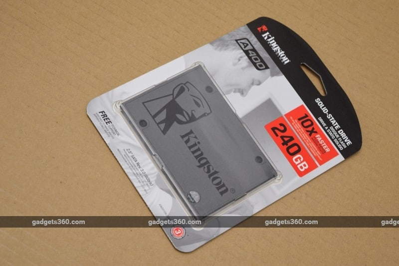 Kingston A400 Ssd Review Ndtv Gadgets360 Com