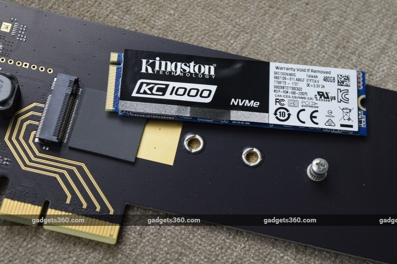 kingston kc1000 unplugged ndtv kingston kc1000