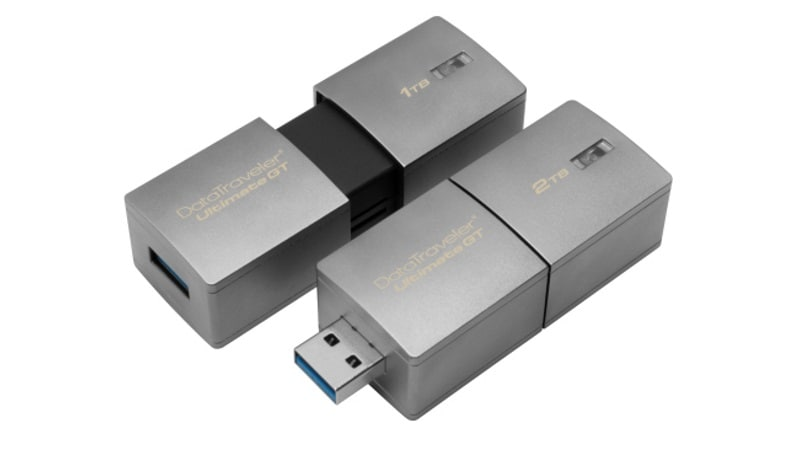 Kingston Launches 'World's Highest Capacity USB Flash Drive' With Up to 2TB Storage at CES 2017