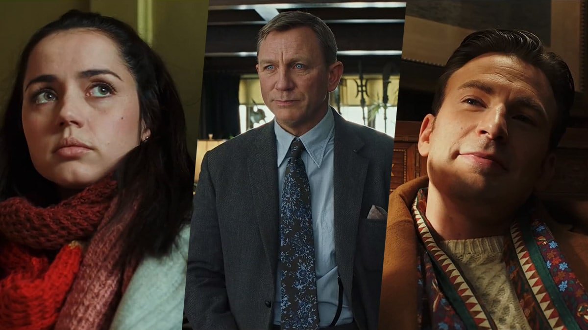 Knives Out Trailer: Daniel Craig, Chris Evans Lead All-Star Cast of Star Wars: The Last Jedi Director's Next Movie