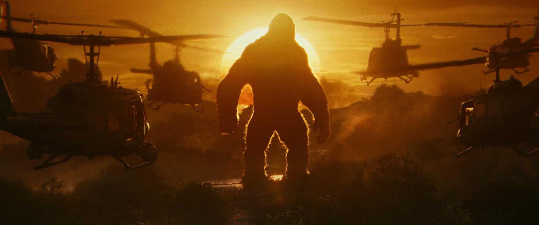 Kong Skull Island: An Insipid Homage to 'Apocalypse Now' With a Bunch of Monsters Thrown In