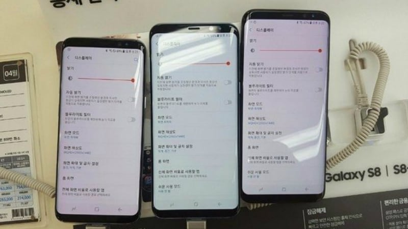Samsung Galaxy S8 Galaxy S8+ Displays Affected by Red Discolouration Some Users Claim