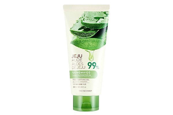 The Face Shop Jeju Aloe Fresh Soothing Gel Tube korean beauty products in india