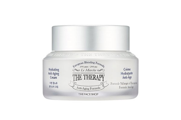 The Faceshop the Therapy Hydrating Anti Aging Cream korean beauty products in india