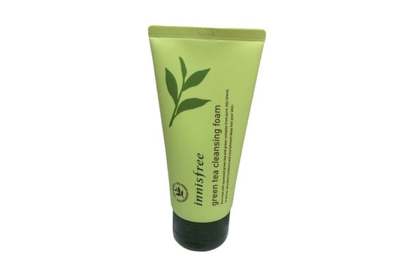 Innisfree Green Tea Pure Cleansing Foam korean beauty products in india