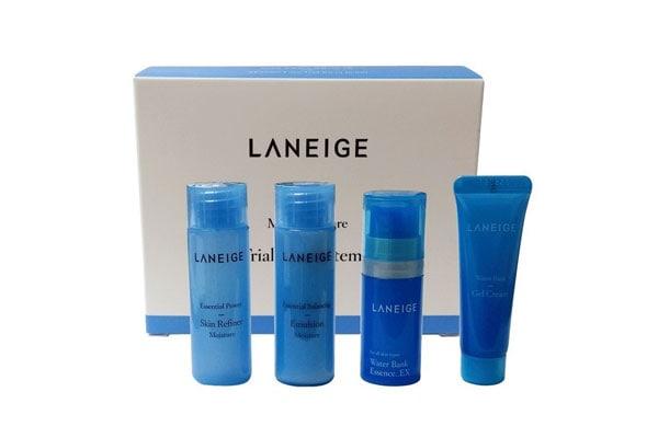 Laneige KOREA Cosmetics 2014 Basic Step Moisture Trial Kit korean beauty products in india