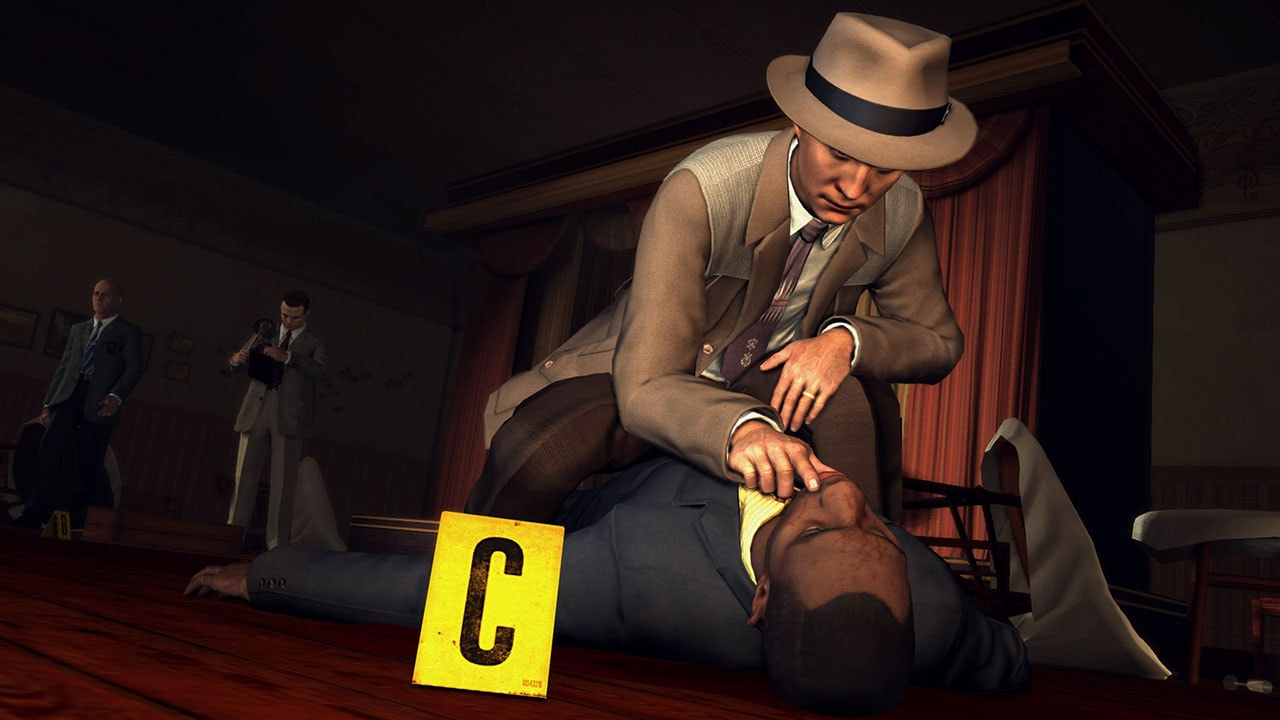 la noire switch detective LA Noire Nintendo Switch