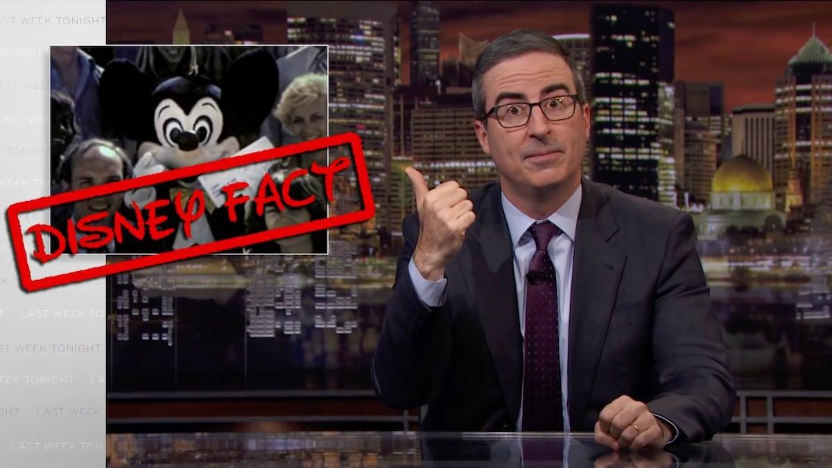 Hotstar Censors Disney Jokes in Last Week Tonight with John Oliver