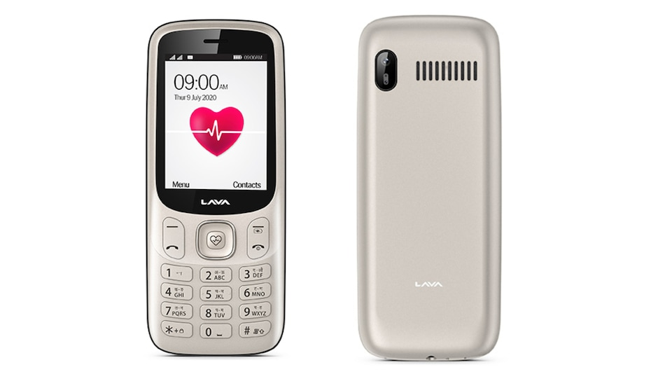 Lava Pulse Feature Phone With Heart Rate and Blood Pressure Sensor Launched in India: Price, Specifications