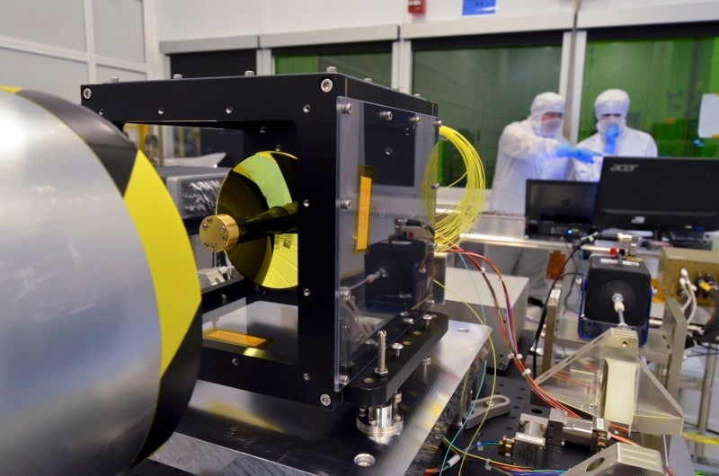 NASA's new laser system boosts internet up to 1Gbps in space