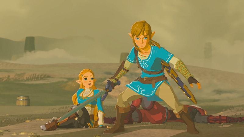 legend of zelda breath of the wild sword stance Legend of Zelda Breath of the Wild