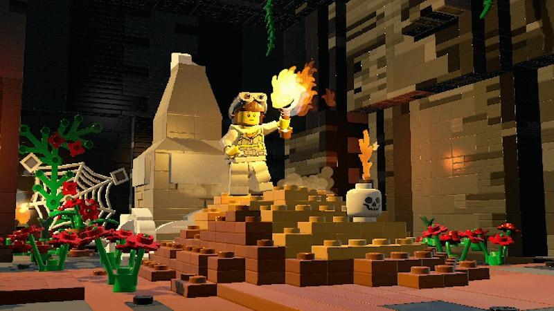 lego worlds fire Lego Worlds