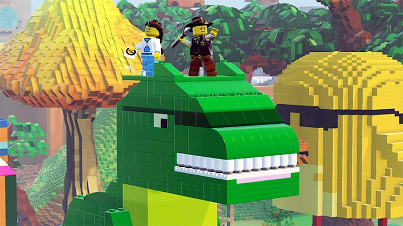 lego worlds monster Lego Worlds